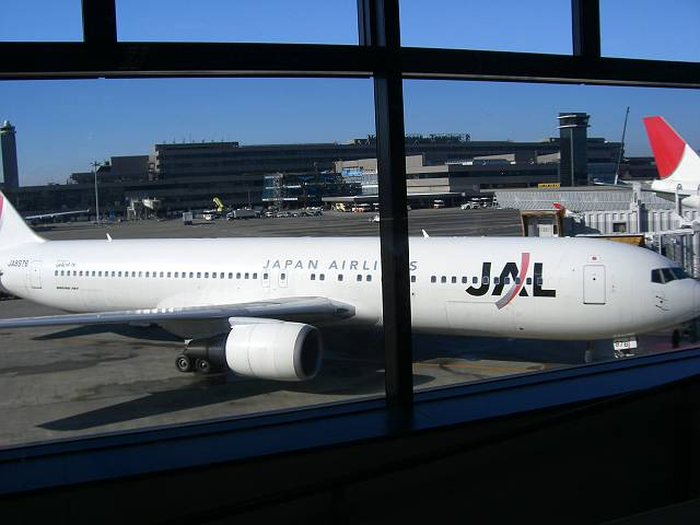 JAL大連往き