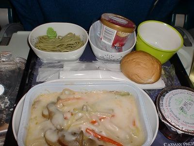 CX500便機内食