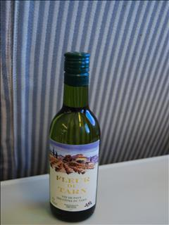 JL604便機内食ワイン